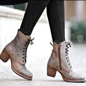 Bed Stu Judgement Distressed Leather Boots